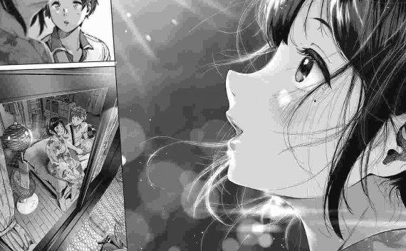 放个纯~漫画   《夏と純》
